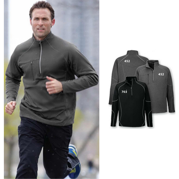 Personalized Men's North End (R) Catalyst Performance Fleece Half Zip Top