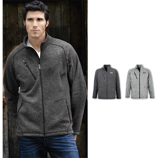 Imprinted Men's North End Sport (R) Peak Sweater Fleece Jacket