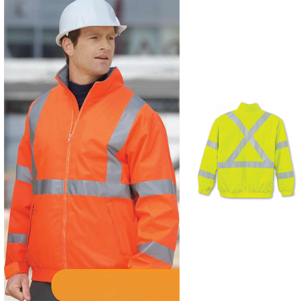 "Promotional Men's North End (R) Insulated ""X"" Pattern Safety Jacket"