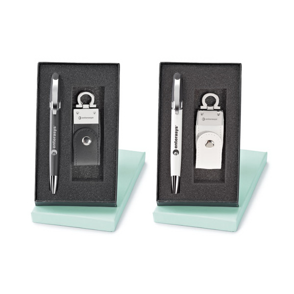 Personalized Bruno Pen and USB Flash Drive Set