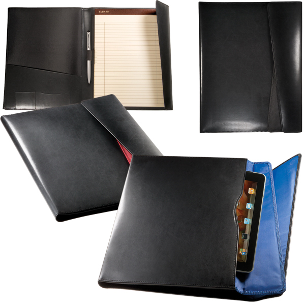Promotional Leeman New york Fairview Portfolio with Tablet Case
