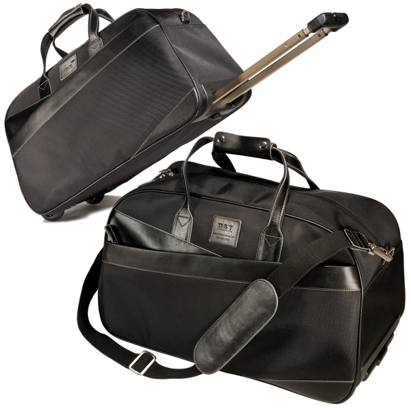 Custom Leeman New York Eclipse Rolling Overnight Bag