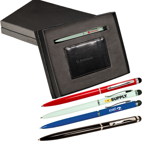 Custom Magic Wallet & Stylus Pen Gift Set
