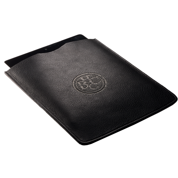 Promotional Voyager (TM) Leather iPad (R) Tablet Sleeve