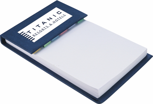 Imprinted Deskpad with Sticky Notes