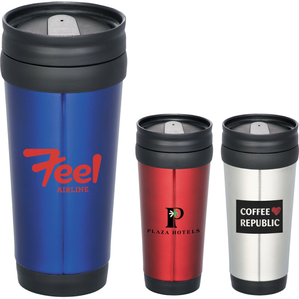 Imprinted The Redondo 14-oz. Travel Tumbler
