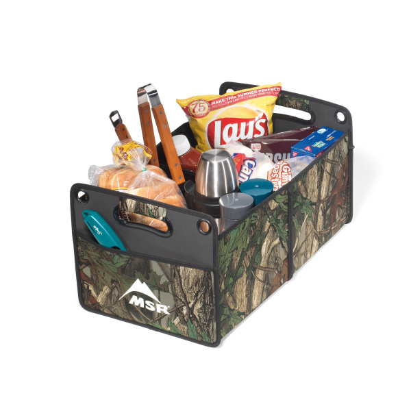 Custom Life in Motion (TM) Large Camo Cargo Box