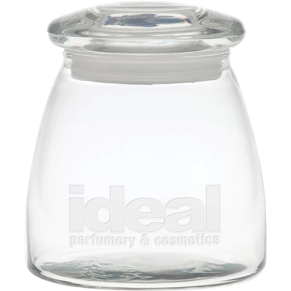 Promotional Large Vibe Apothecary Jar with Arch Lid