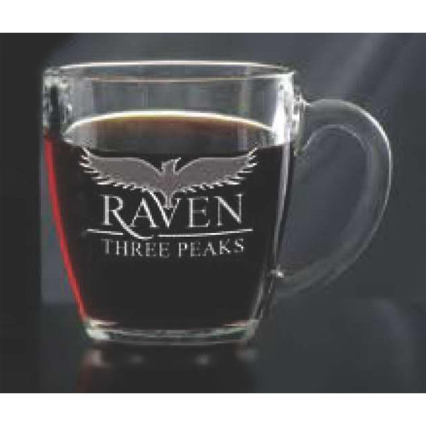 Promotional Glass Bistro Coffee Mug