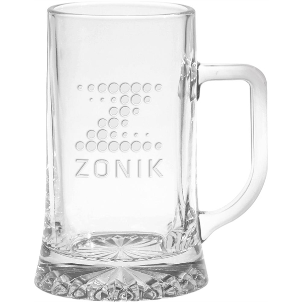 Customized European Glass Tankard