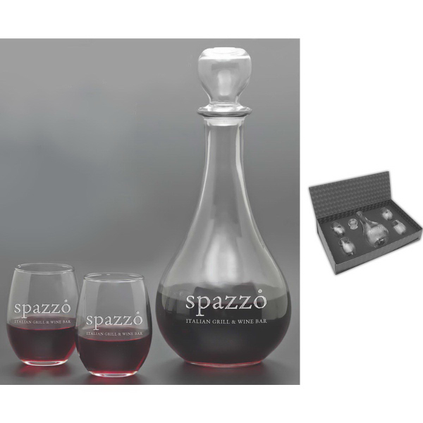 Custom Carafe Set