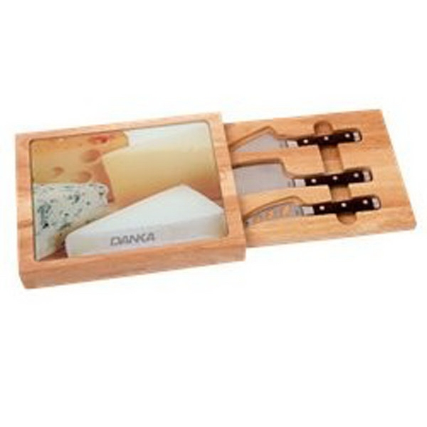 Promotional 5 Piece Toma Cheese Set