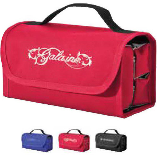 Imprinted Wrap-Up Toiletry Bag Bold Color