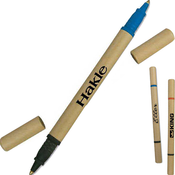 Promotional Eco Twin Paper Barrel Pen