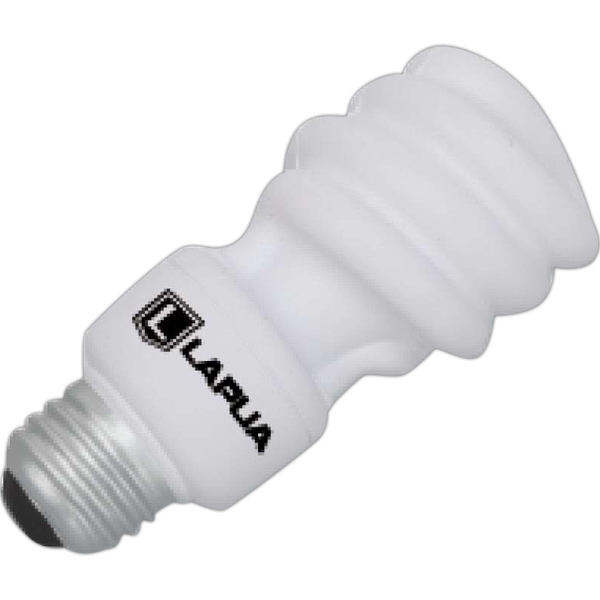 Promotional Energy Saving Light Bulb Stress Reliever