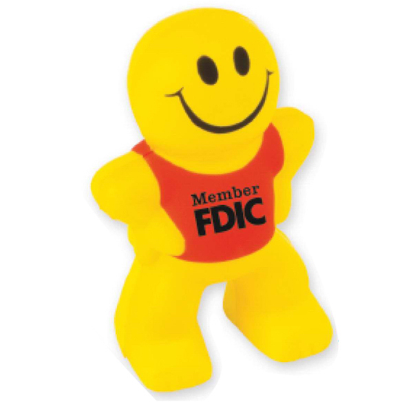 Personalized Happy Smile Stress Reliever