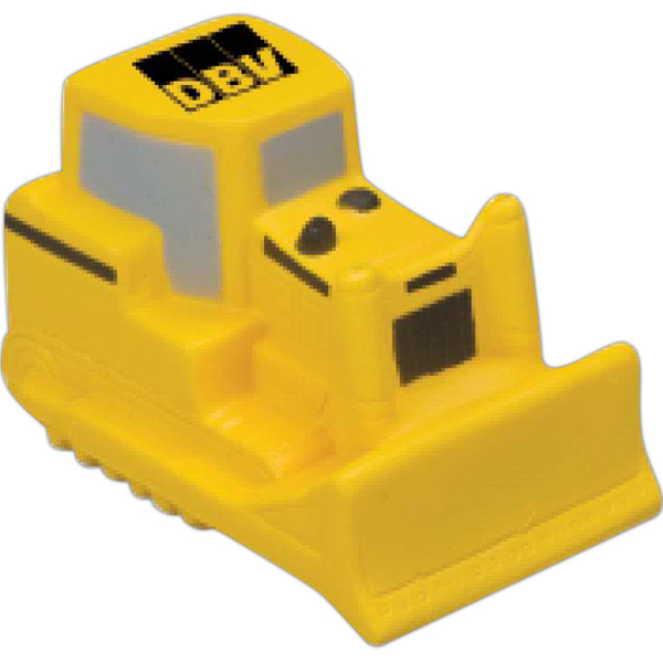 Printed Bulldozer Stress Reliever
