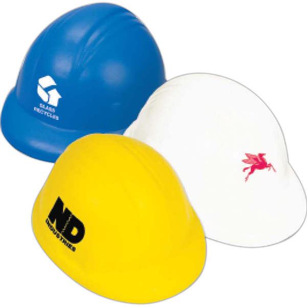 Personalized Hard Hat Stress Reliever