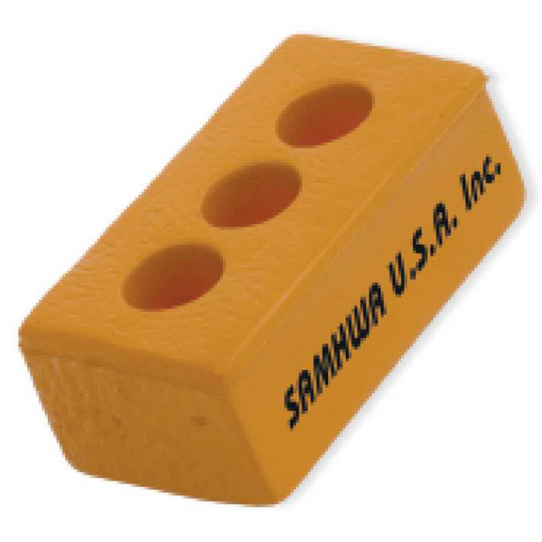 Personalized Brick Stress Reliever