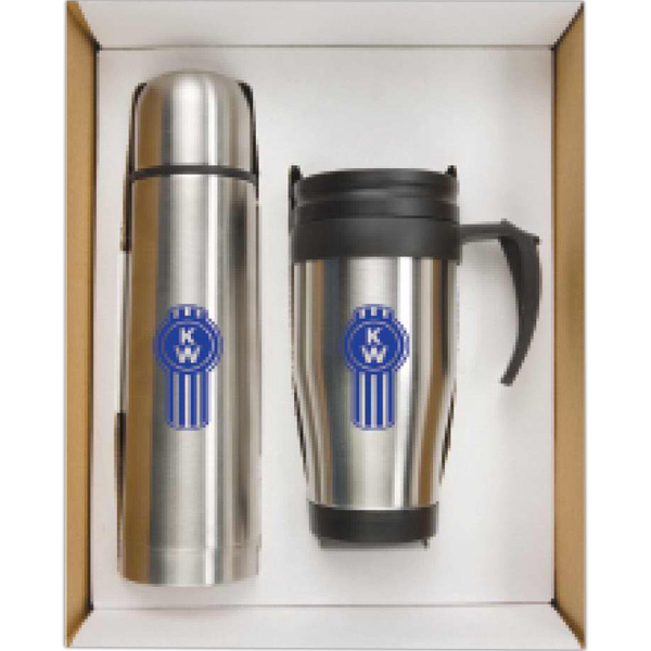 Custom Thermo Bottle/Mug Gift Set