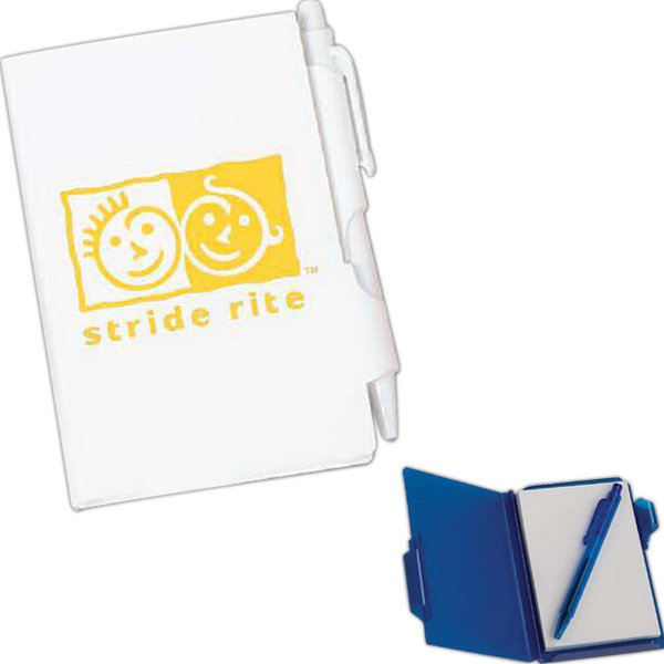 Printed Plastic Note Pad Holder
