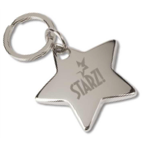 Personalized Star Key Tag