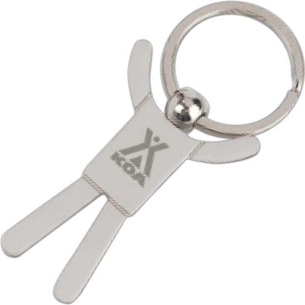 Personalized Stickman Key Tag