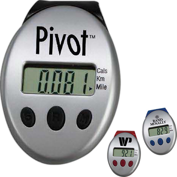 Customized Clip-On Pedometer