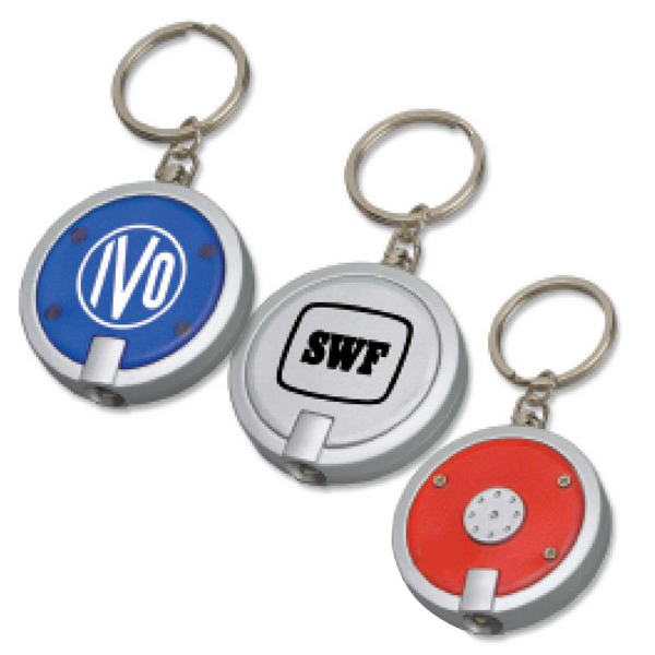 Custom Round Key Tag Light