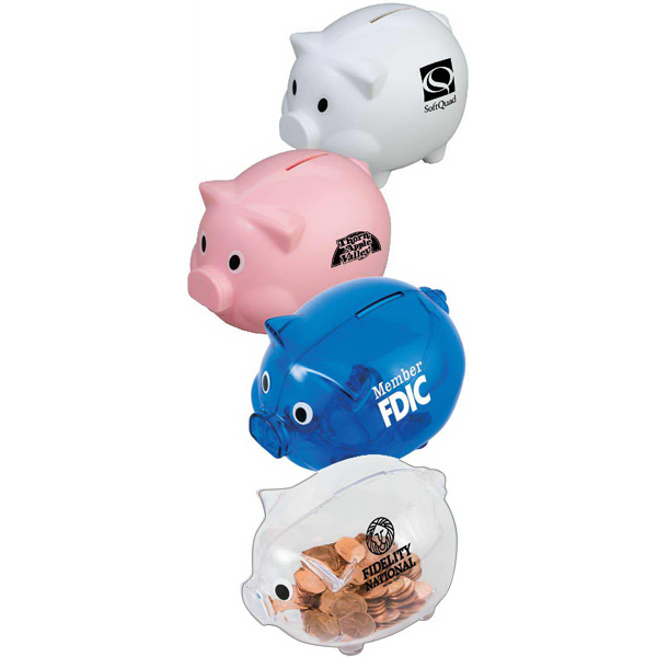Custom Piggy Shaped Bank
