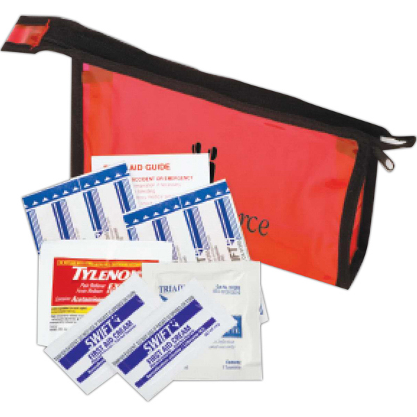 Imprinted First Aid Travel Kit