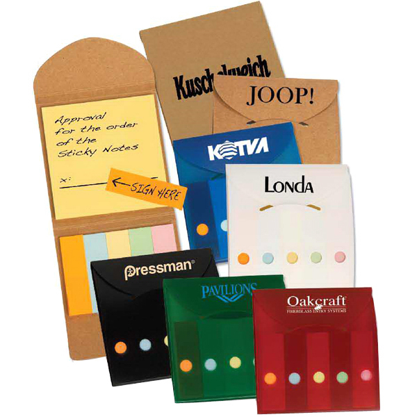 Personalized Pocket Sticky Note Caddy