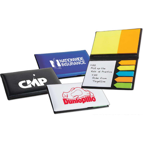 Personalized Executive Sticky Note Book with Arrow Flags