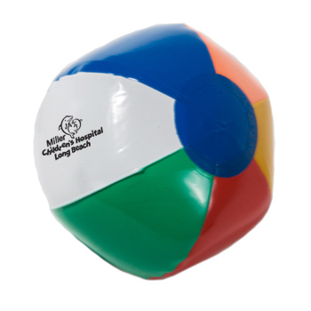 "Imprinted 6"" Inflatable Beach Ball"