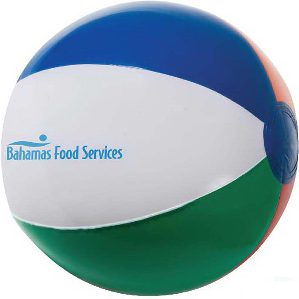 "Customized 16"" Inflatable Beach Ball"