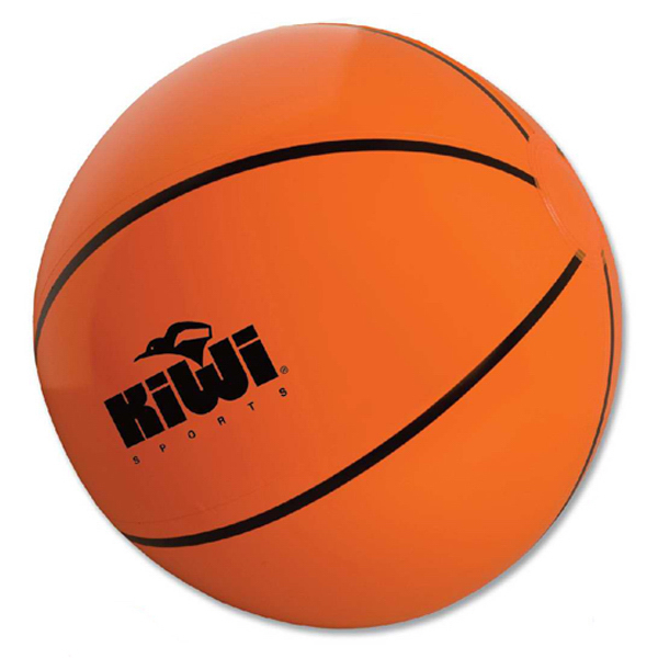 Imprinted Basketball Beach Ball