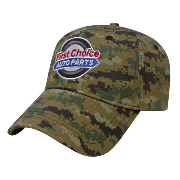 Printed Digital Camouflage Cap