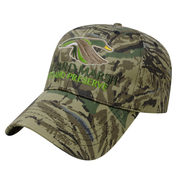 Imprinted Silencer Pattern Camo Cap