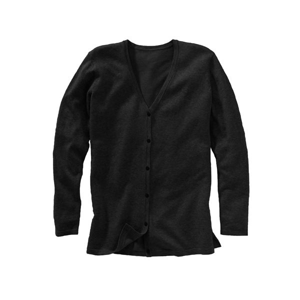 Customized Women's Corporate Performance V-Neck Longer Cardigan