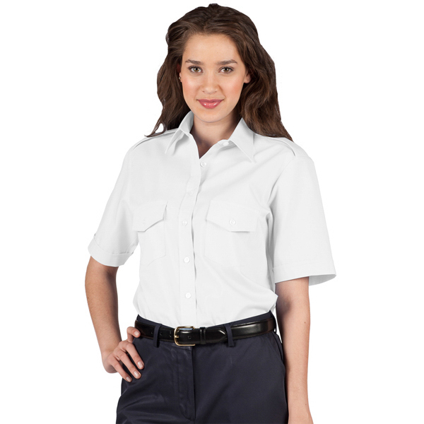 Personalized Women's Short Sleeve Navigator Shirt