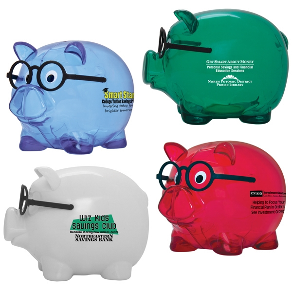 Personalized Smart Saver Piggy Bank