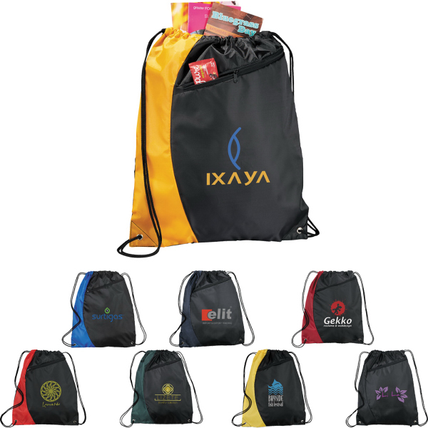Personalized The Sonar Drawstring Cinch Backpack