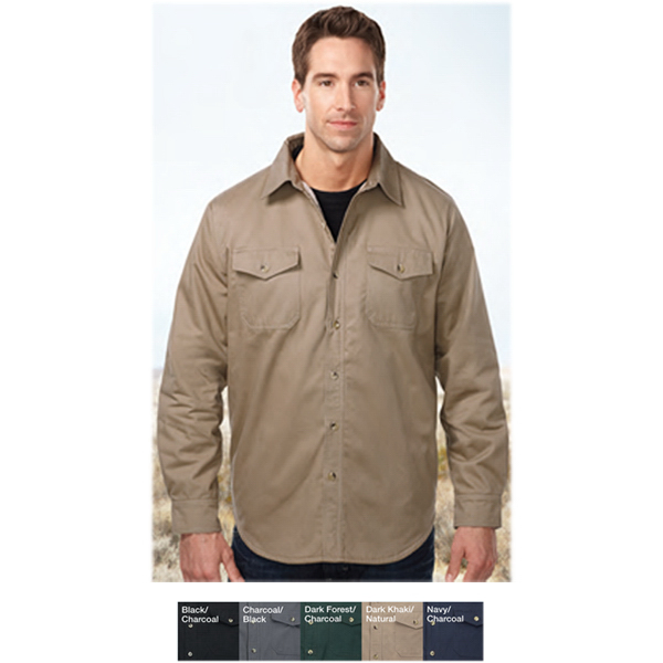 Imprinted Tahoe Sherpa Shirt Jacket