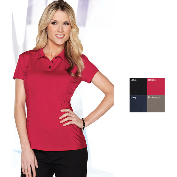 Printed Natalie Women's Jersey Polo