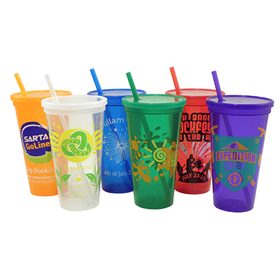 Customized 24 oz Jewel Tumbler