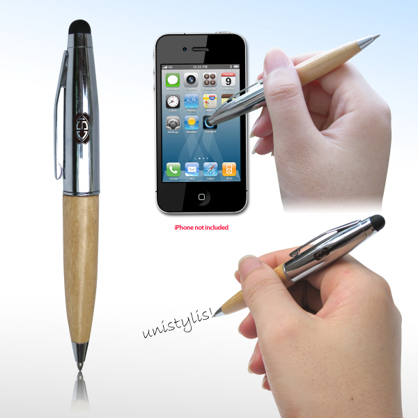 Imprinted Touch Screen Ballpoint Pen V