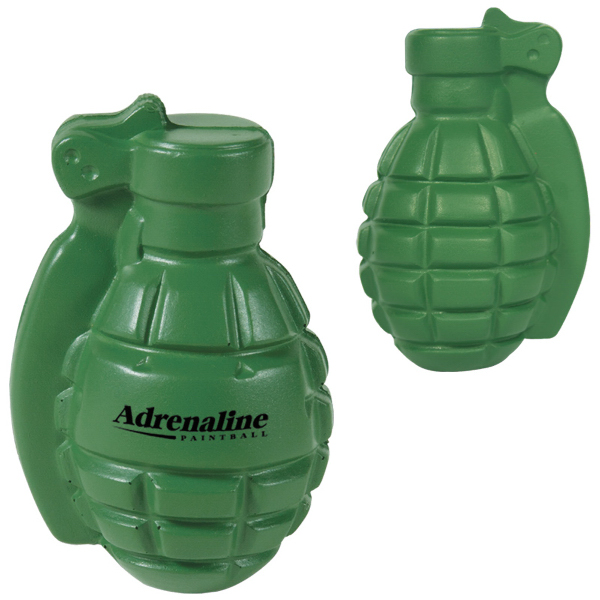 Custom Grenade Stress Reliever