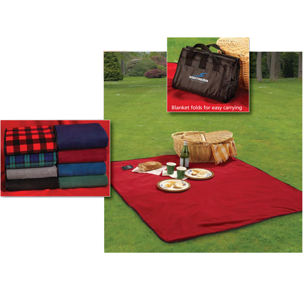 Promotional Fleece / Nylon Picnic Blanket