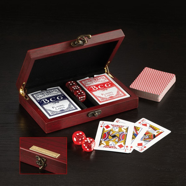 Promotional Card and Dice Set