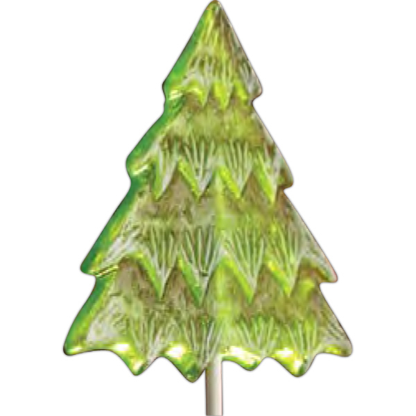 Personalized Christmas Tree Lollipop